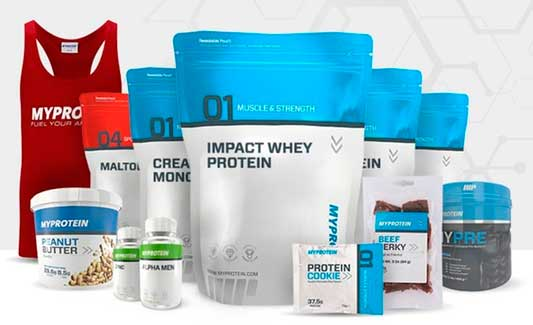 спортивное питание myprotein купить