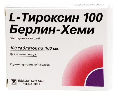 L-тироксин от Берлин Хеми в