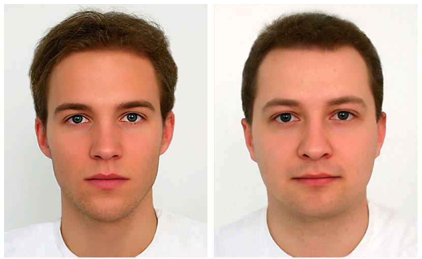 Как сделать мужской лицо 114