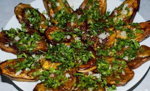 Жаркое из баклажанов рецепт с фото