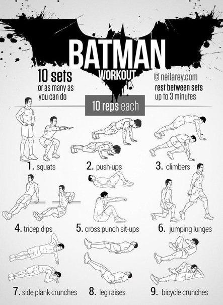 Тренировки с собственным весом на массу